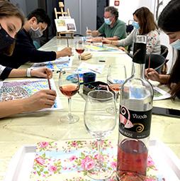 ART & VINE likovne radionice za odrasle
