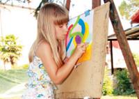 Ljetne likovne radionice za djecu u Istri